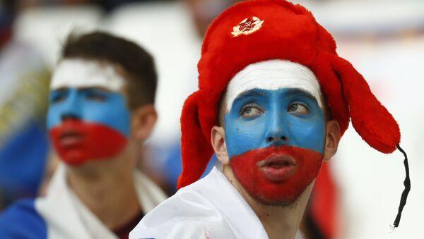Des fans russes - Sputnik Türkiye