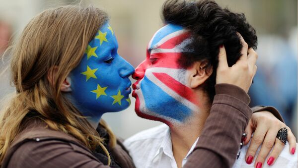 İngiltere'deki AB referandumu / Brexit - Sputnik Türkiye