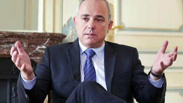 İsrail Enerji Bakanı Yuval Steinitz - Sputnik Türkiye