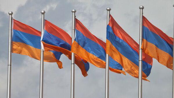 Ermenistan bayrağı. - Sputnik Türkiye