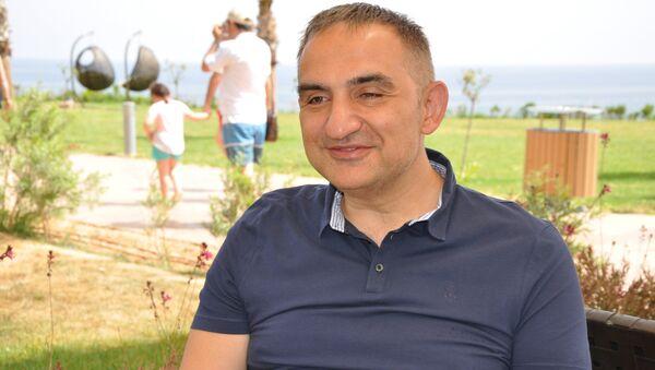 Elexus Hotel ve Atlasglobal Yönetim Kurulu Başkanı Murat Ersoy - Sputnik Türkiye