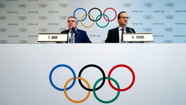 IOC Başkanı Thomas Bach - Sputnik Türkiye