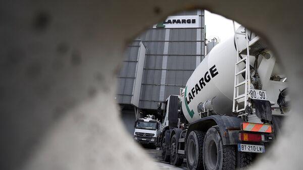 Fransız inşaat şirketi Lafarge. - Sputnik Türkiye