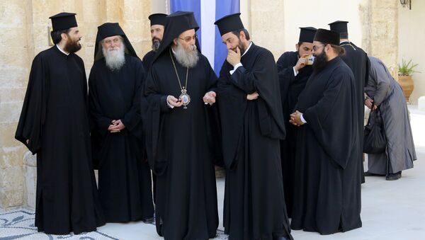 Girit / Ortodoks Kilisesi Konsili - Sputnik Türkiye