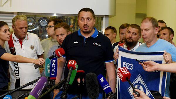 Rusya Taraftarlar Birliği (VOB) lideri Aleksandr Şprıgin - Sputnik Türkiye