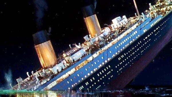 Titanik'in batışı - Sputnik Türkiye