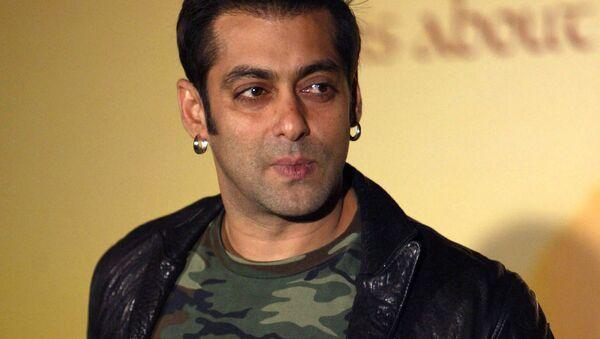 Hindistanlı ünlü aktör Salman Khan - Sputnik Türkiye