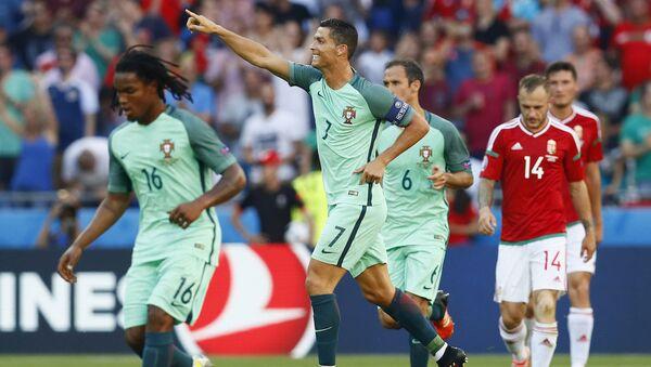 Portekiz Milli Takımı'nın yıldız oyuncusu Cristiano Ronaldo - Sputnik Türkiye