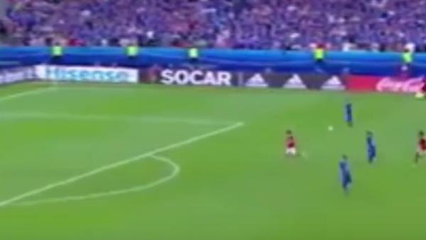 Avrupa Futbol Şampiyonası (EURO 2016) çerçevesinde İzlanda ve Avusturya arasında gerçekleşen maçta, İzlanda'nın son dakikada attığı gol spikerin çığlık çığlığa bağırmasına neden oldu. - Sputnik Türkiye