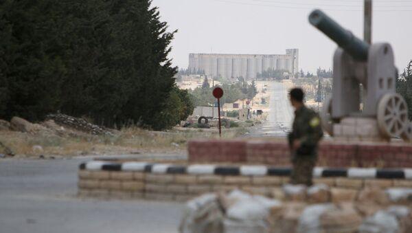 Demokratik Suriye Güçleri Menbiç'te. - Sputnik Türkiye