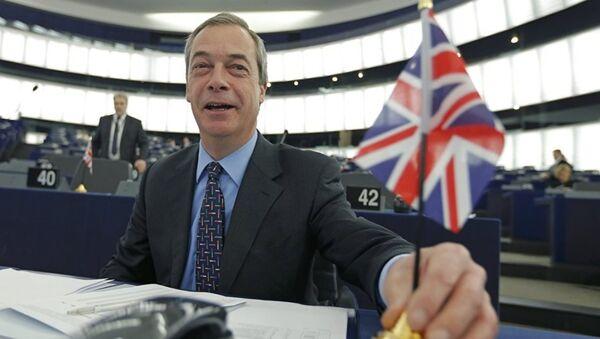 Nigel Farage - Sputnik Türkiye