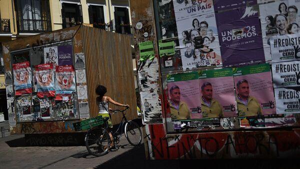 İspanya'da seçim - Sputnik Türkiye