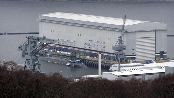 Faslane denizaltı üssü, İskoçya - Sputnik Türkiye