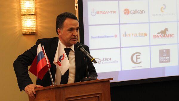 Rus Türk İş Adamları Birliği (RTİB) Başkanı Naki Karaaslan - Sputnik Türkiye