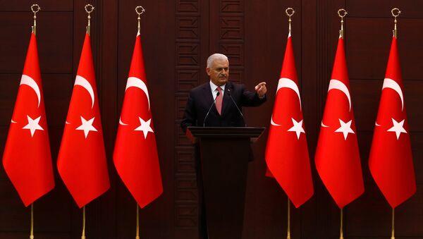 Türkiye Başbakanı Binali Yıldırım - Sputnik Türkiye