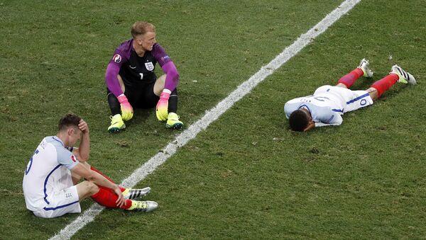 İngiltere, EURO 2016'ya veda etti. - Sputnik Türkiye