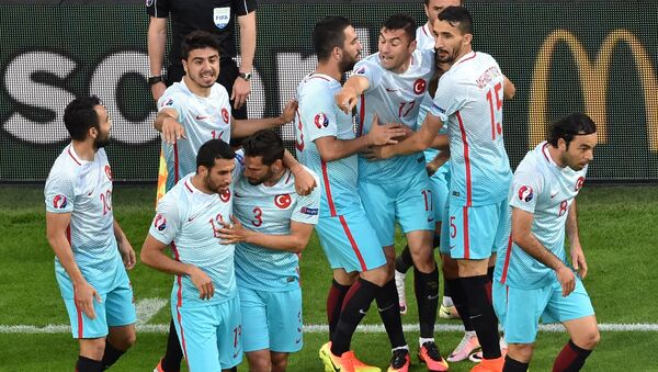 Türkiye - EURO 2016 - Sputnik Türkiye