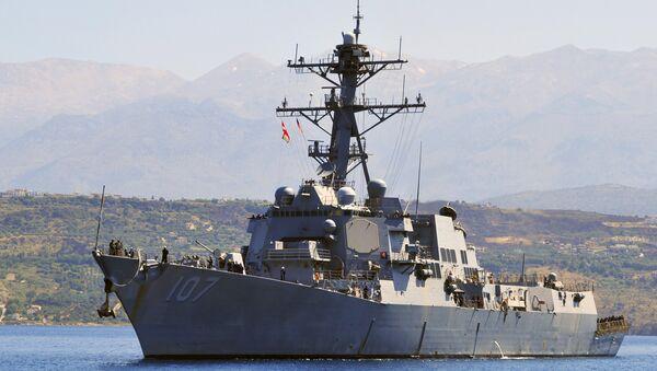 USS Gravely / ABD donanmasına ait güdümlü füze destroyer gemisi - Sputnik Türkiye