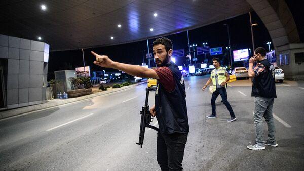 Atatürk Havalimanı'nda saldırı - Sputnik Türkiye