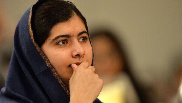 Nobel Barış Ödüllü Pakistanlı aktivist Malala Yusufzay - Sputnik Türkiye