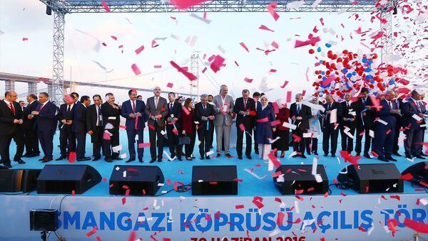 Osmangazi Köprüsü açılış töreni. - Sputnik Türkiye