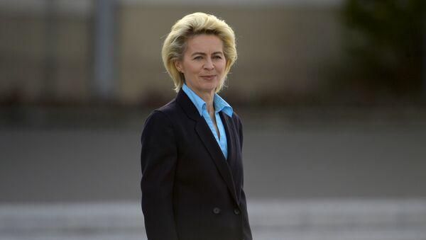 German Defence Minister Ursula von der Leyen - Sputnik Türkiye