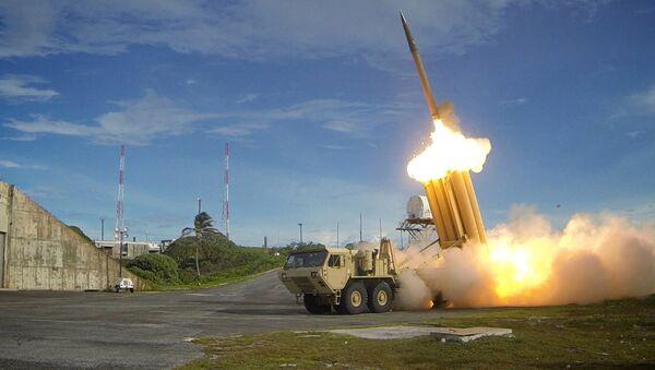 Bölge Yüksek İrtifa Hava Savunması (THAAD) füzeleri - Sputnik Türkiye