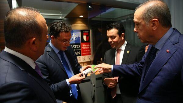 Cumhurbaşkanı Recep Tayyip Erdoğan - Daniel Mitov - Sputnik Türkiye