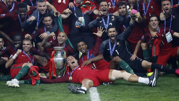 Avrupa Şampiyonu Portekiz - Sputnik Türkiye