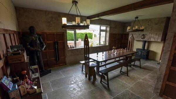 Evlerinin odasını Harry Potter setine dönüştürmek için 13 bin sterlin harcadılar - Sputnik Türkiye