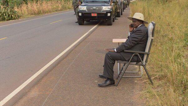 Uganda Cumhurbaşkanı Yoweri Museveni - Sputnik Türkiye