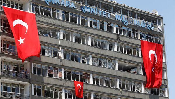 Darbe girişimi - Ankara Emniyet Müdürlüğü - Sputnik Türkiye