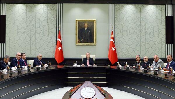 15 Temmuz darbe girişiminin ardından yapılan ilk Milli Güvenlik Kurulu (MGK) sona erdi. - Sputnik Türkiye