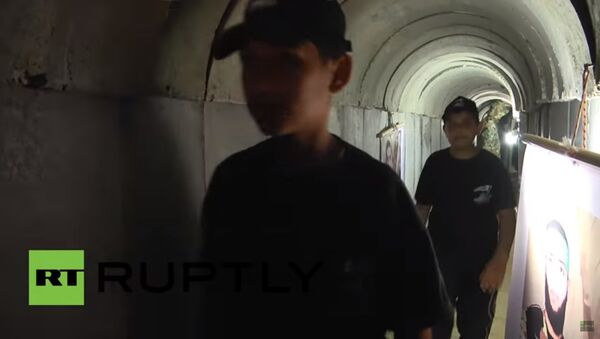 Hamas tünellerini halka açtı / Video haber - Sputnik Türkiye