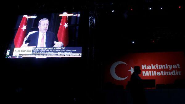 Recep Tayyip Erdoğan - El Cezire röportajı - Sputnik Türkiye