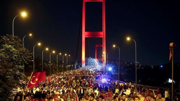 Darbe protesto - Sputnik Türkiye