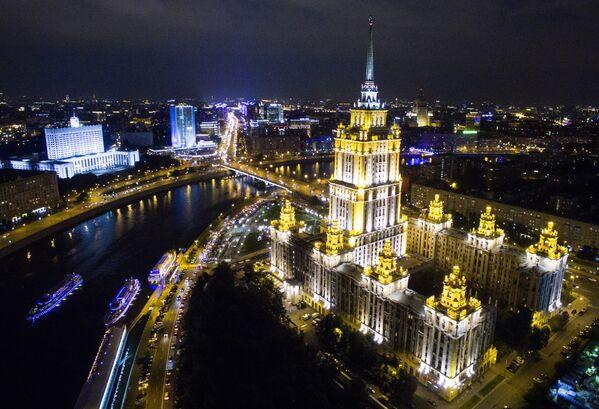 Moskova'daki Radisson Royal oteli - Sputnik Türkiye