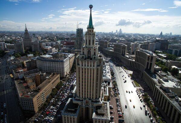 Hilton Moscow Leningradskaya Hotel - Sputnik Türkiye