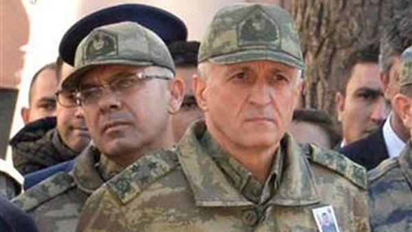 TSK'dan ihraç edilen 7. Kolordu Komutanı Korgeneral Yılmaz - Sputnik Türkiye