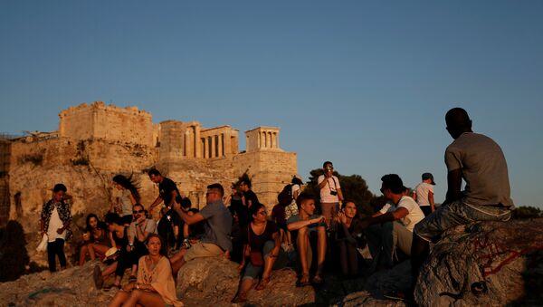 Yunanistan turizm / Atina / Akropolis - Sputnik Türkiye