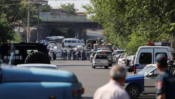 Erivan'da kriz sona erdi. - Sputnik Türkiye