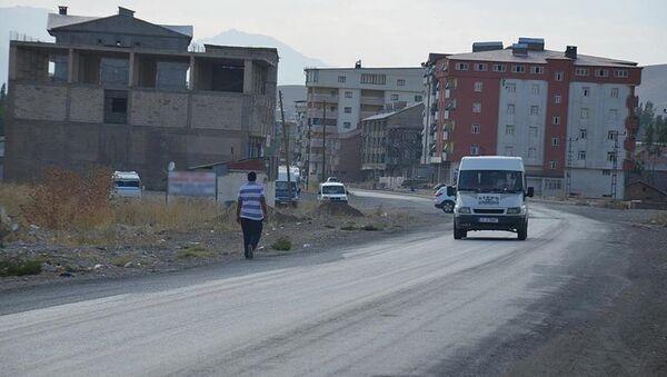 Hakkari Şemdinli'de sokağa çıkma yasağı - Sputnik Türkiye