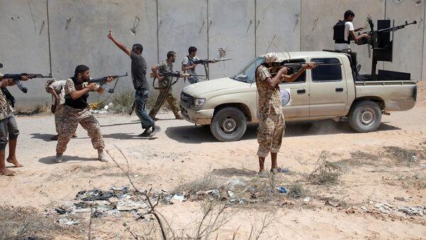 Libya IŞİD'le mücadele - Sputnik Türkiye