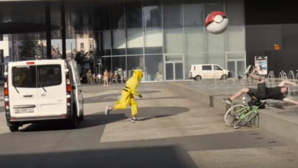 İsviçre'de pokemonlar insanları yakaladı - Sputnik Türkiye