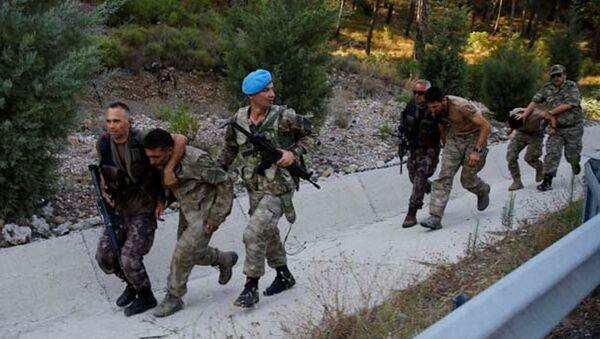 Marmaris'te otele baskın yapmak isteyen askerler yakalandı - Sputnik Türkiye