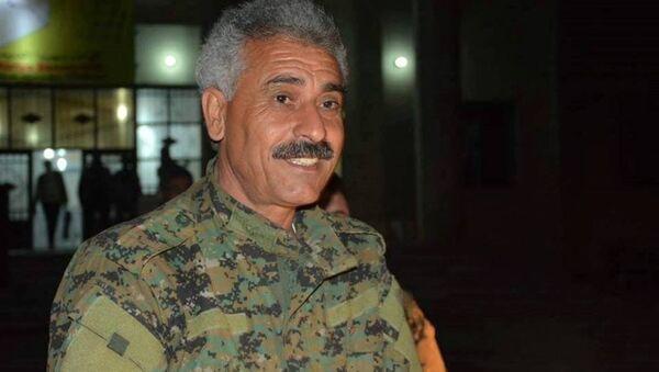 Demokratik Suriye Güçleri (DSG) Dış İlişkiler sorumlusu Abdulaziz Yunus, - Sputnik Türkiye