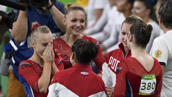 Rusya Kadınlar Jimnastik Takımı - Sputnik Türkiye