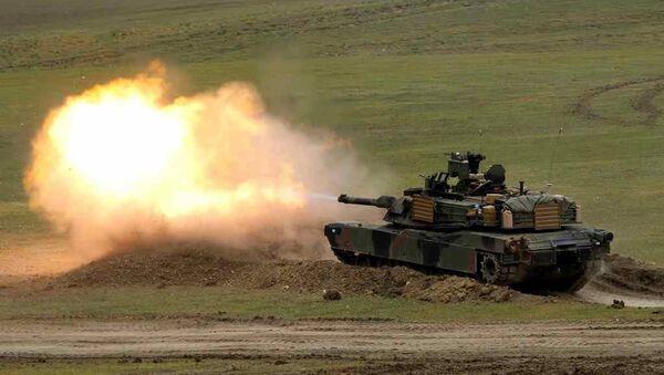ABD Abrams tank - Sputnik Türkiye