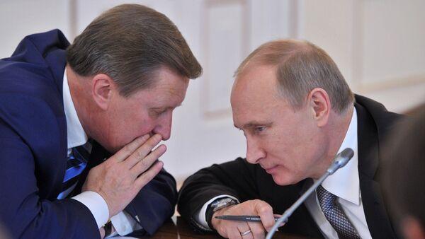 Vladimir Putin - Sergey İvanov - Sputnik Türkiye
