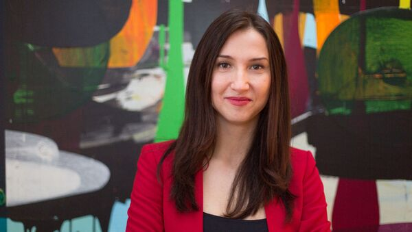 İsveç devlet bakanı Aida Hadzialic - Sputnik Türkiye